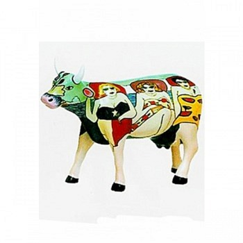 Cow Parade Kuh Fun Seeker