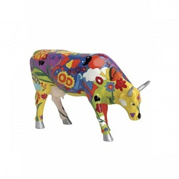 Cow Parade Kuh Groovy Moo