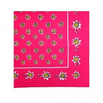 Nickituch Edelweiss pink