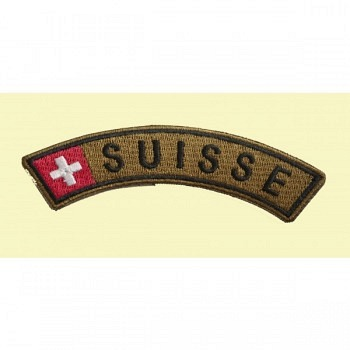 Patch Suisse braun