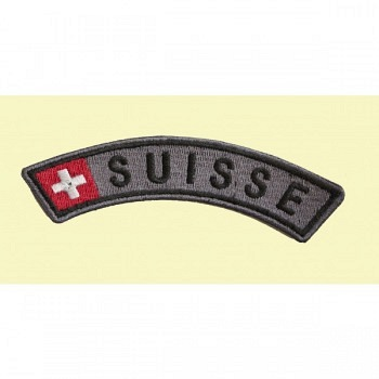 Patch Suisse grau