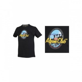 Alpine Club Switzerland Shirt Mountain Research schwarz